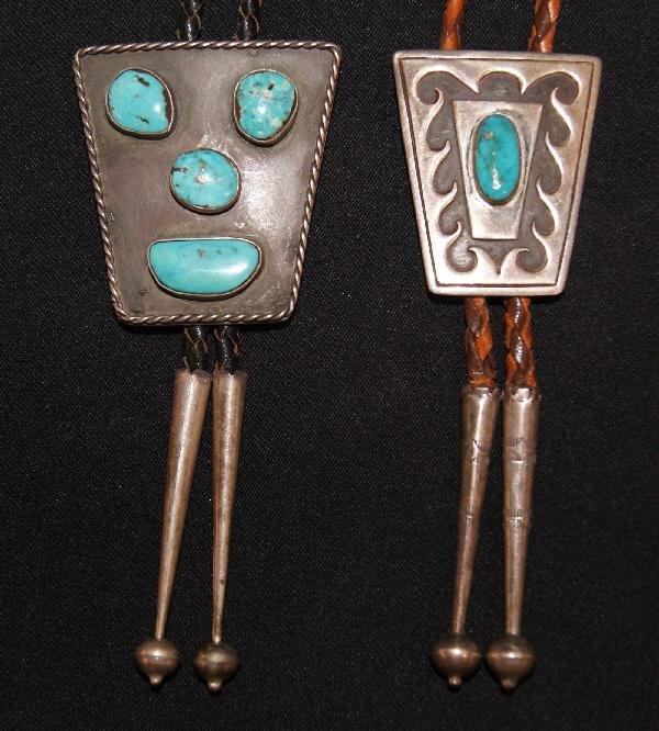 20: Two Navajo Bolos