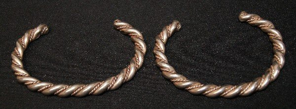 10: TWO NAVAJO BRACLETS