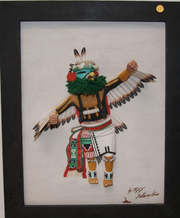 233: 1980'S HOPI PAINTING