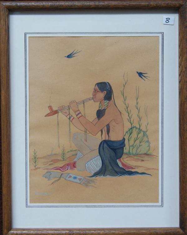 8: Creek/Pawnee Painting