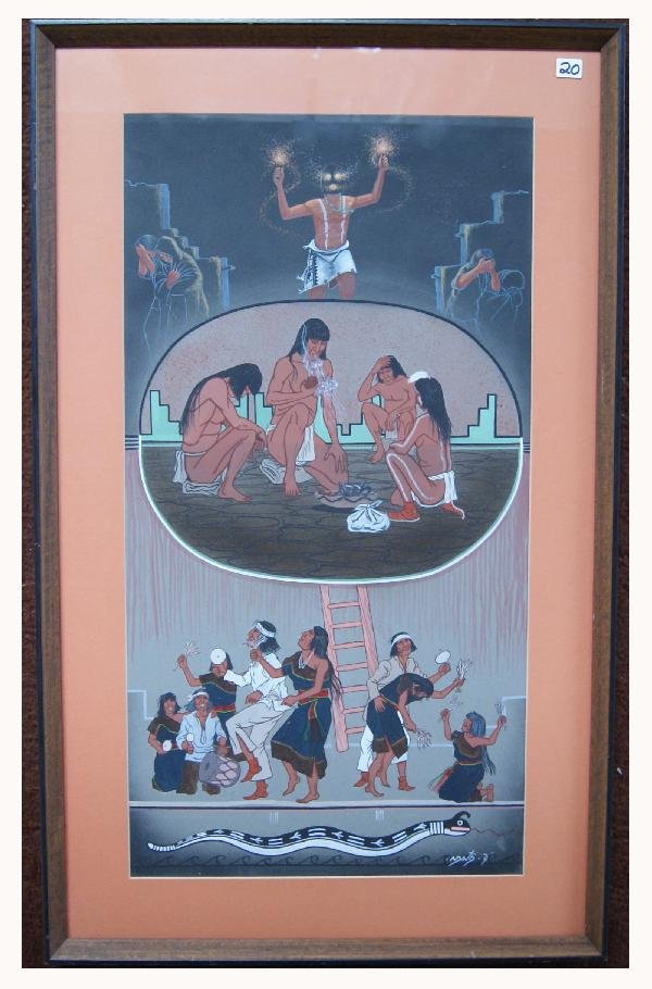 20: Hopi Painting