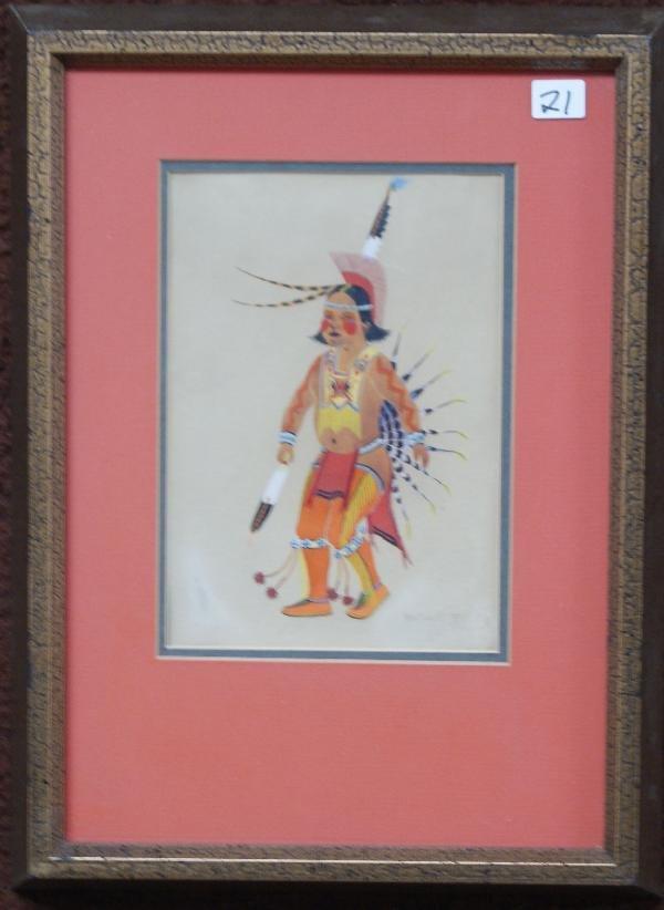 21: Kiowa Painting