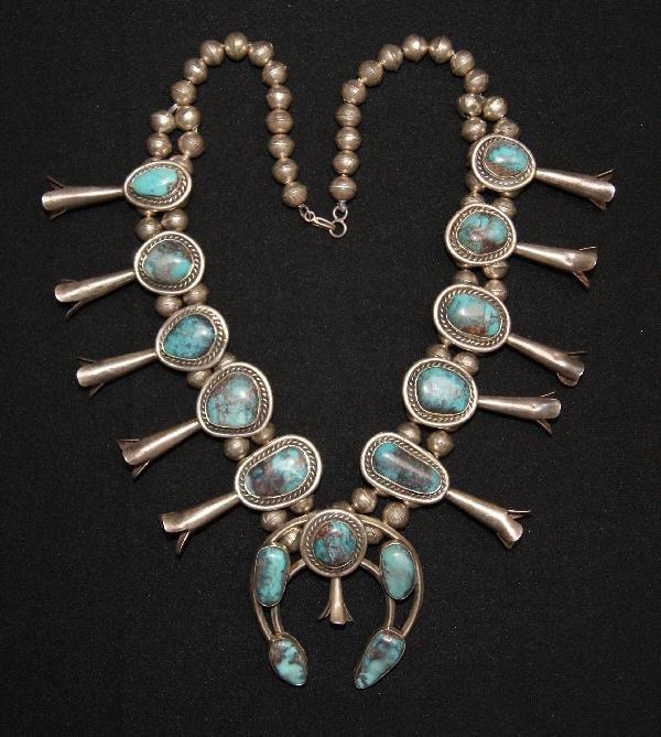 155: Navajo Silver Squash Blossom