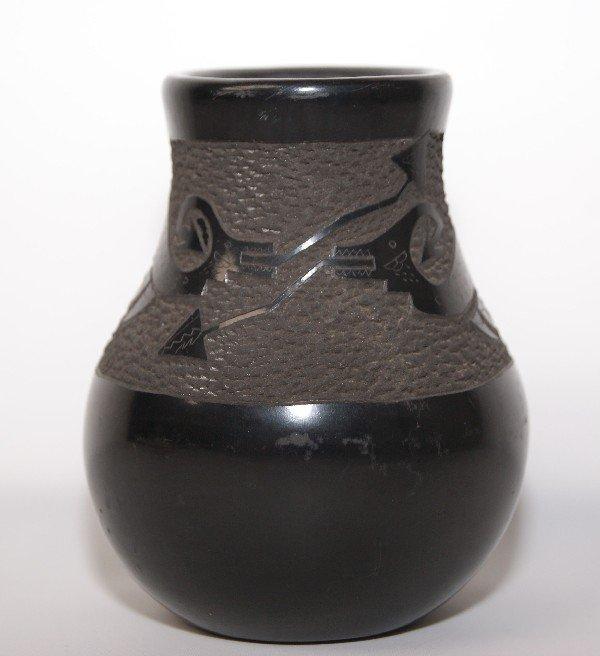 251: Santa Clara Pottery Vase