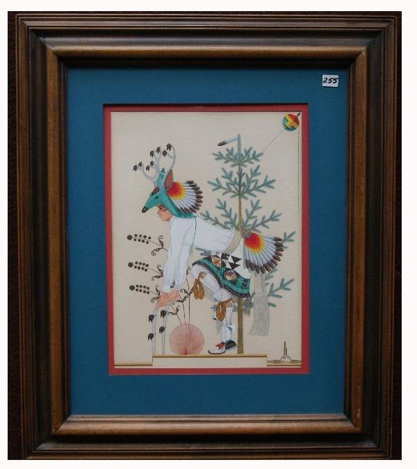 255: Zia Painting