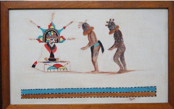 256: Hopi Painting