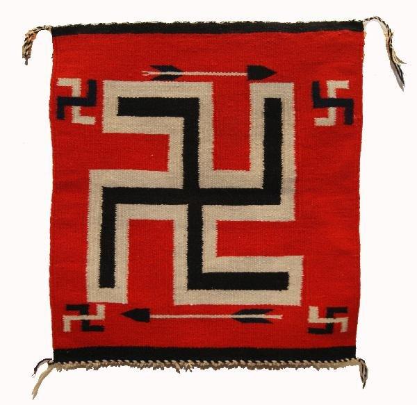 258: Navajo Sampler Textile
