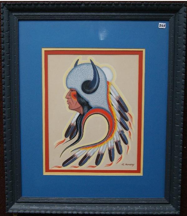 265: Kiowa Painting