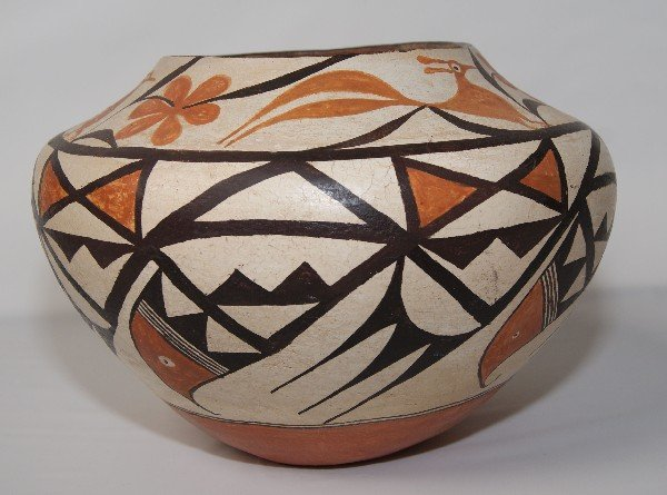 267: Acoma Pottery Olla