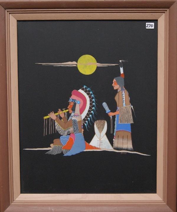 270: Kiowa/Comanche Painting