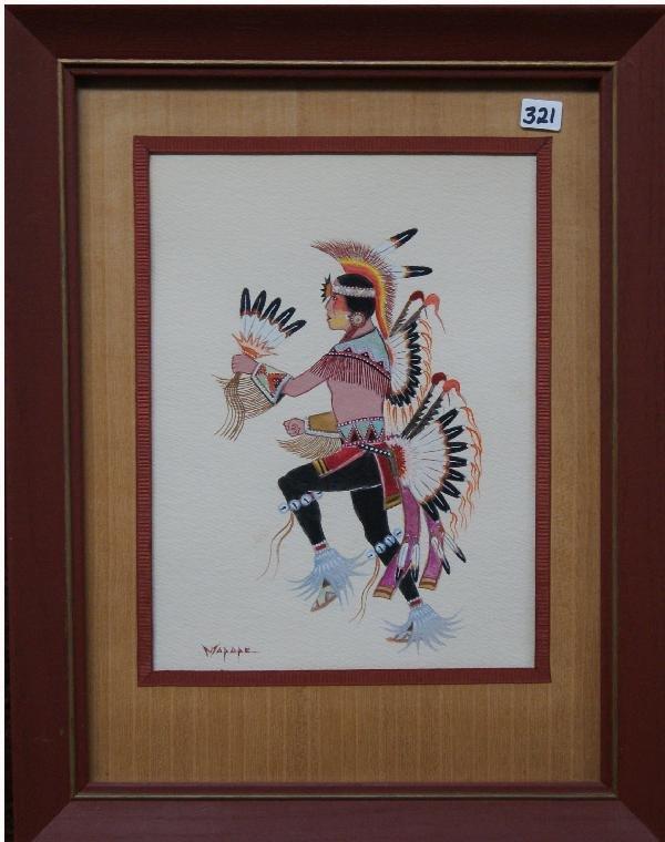 321: Kiowa Painting
