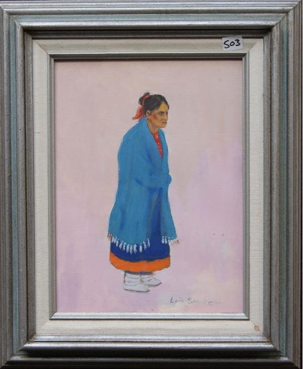 503: Kiowa Watercolor Painting