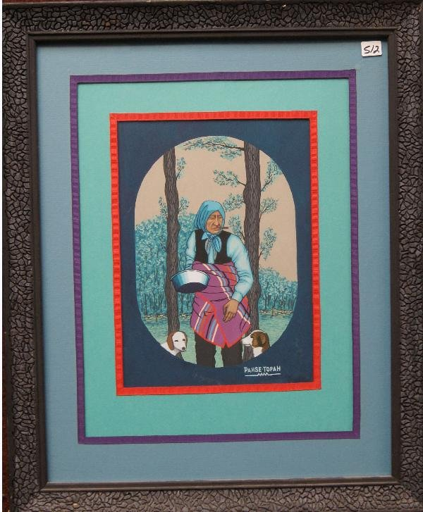 512: Osage Painting