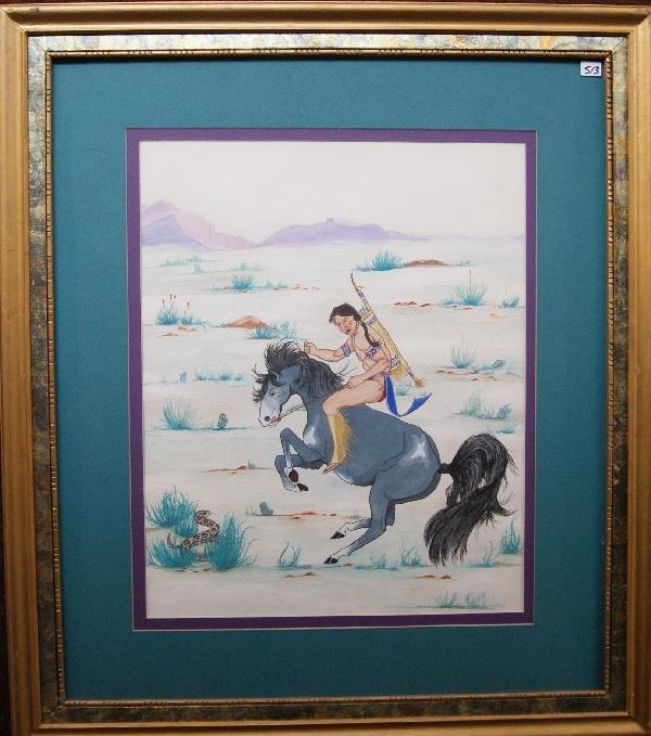 513: Plains Watercolor