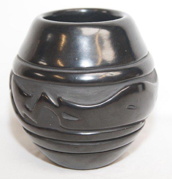 514: Santa Clara Pottery Jar
