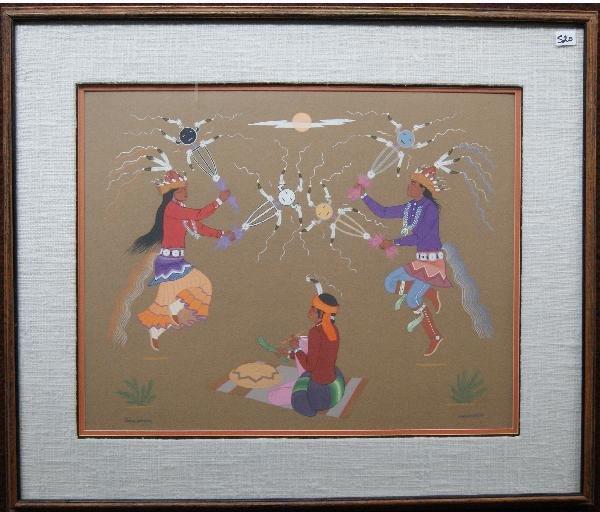 520: Navajo Water  Color