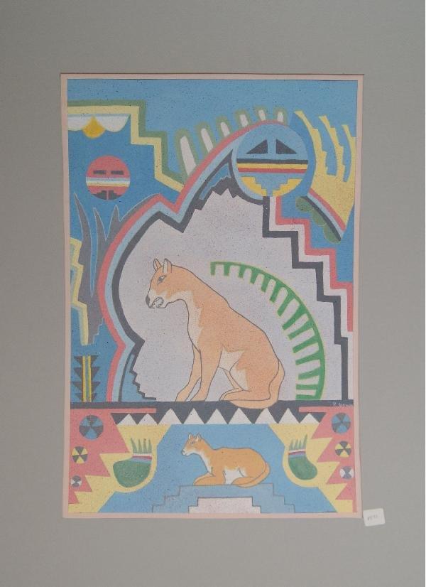 522: San Ildefonso Watercolor