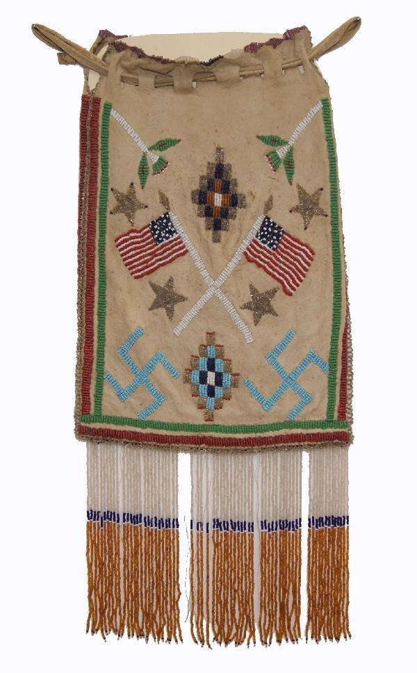 523: Apache Beaded Bag