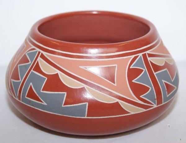 524: Santa Clara Pottery Bowl