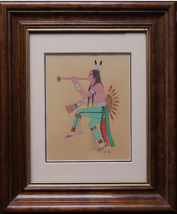 545: Kiowa Painting
