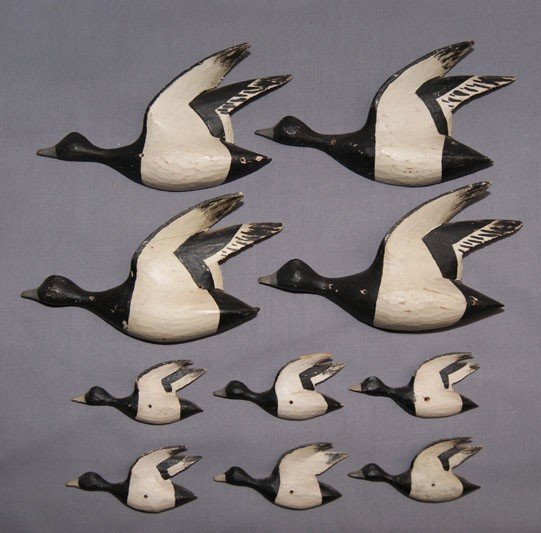 2: CARVED GEESE