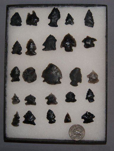 5: OBSIDIAN ARROW HEADS