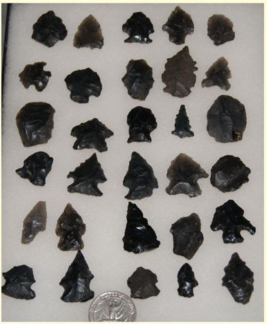 6: OBSIDIAN ARROW HEADS