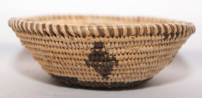 252: MINIATURE PIMA BASKET