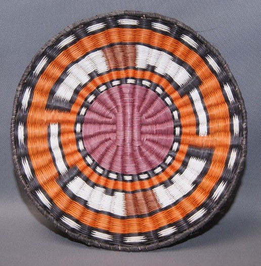 2: HOPI BASKETRY PLAQUE