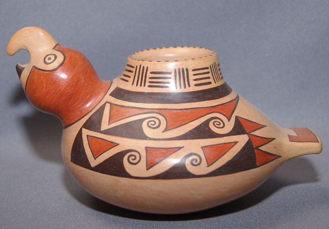 3: HOPI POTTERY  EFFIGY