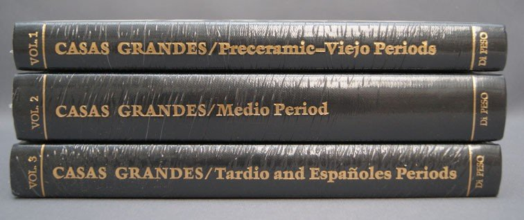 256: SET OF CASAS GRANDES BOOKS