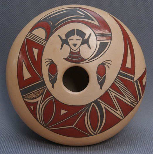 260: HOPI POTTERY JAR