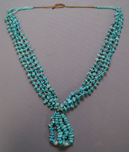 2: NAVAJO TURQUOISE NECKLACE