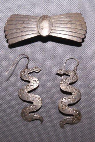 1: Navajo silver jewelry
