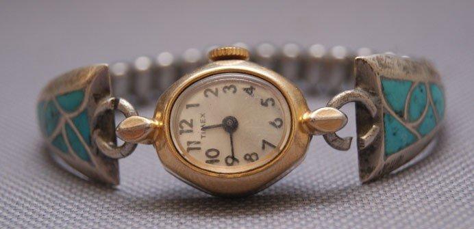 5: Zuni silver watch band