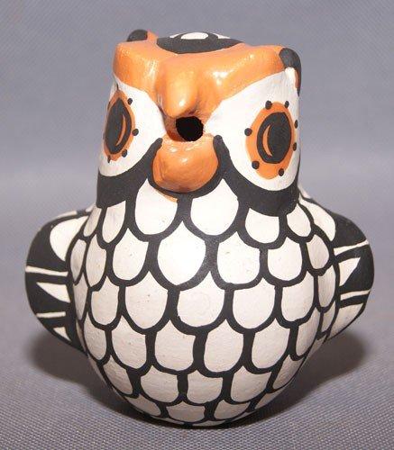 7: Acoma pottery owl