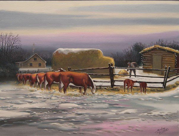 10: Cree/Canadian Painting