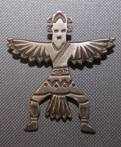 14: Zuni silver Pin