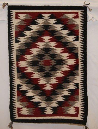 22: Navajo textile