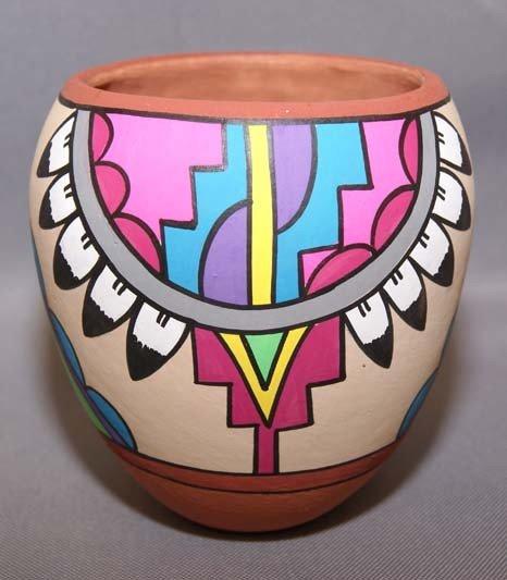 2: JEMEZ POTTERY JAR