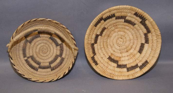 6: TWO PAPAGO BASKETS