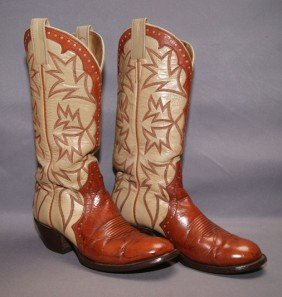 24: PAIR OF COWBOY BOOTS