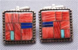 154: Navajo cuff links