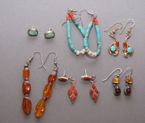 3: COLLECTION OF EARRINGS
