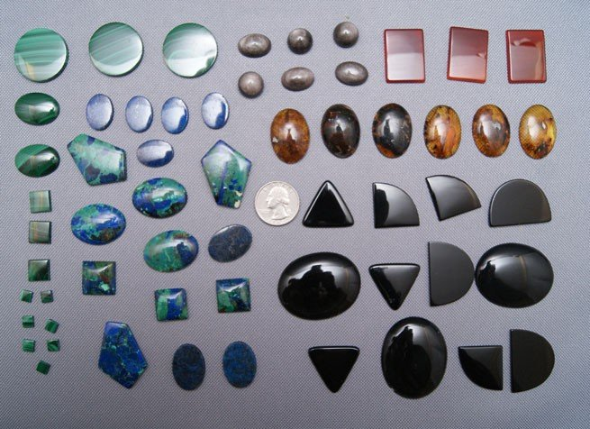 23: COLLECTION OF STONES