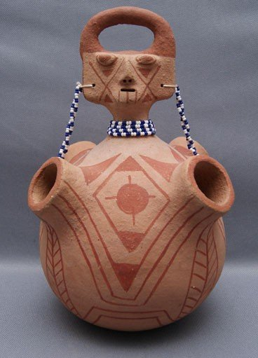 3: MOJAVE POTTERY  EFFIGY
