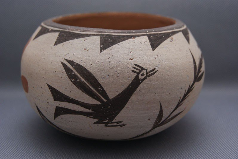 19: ZIA POTTERY BOWL