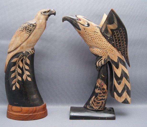 21: TWO HORN BIRDS