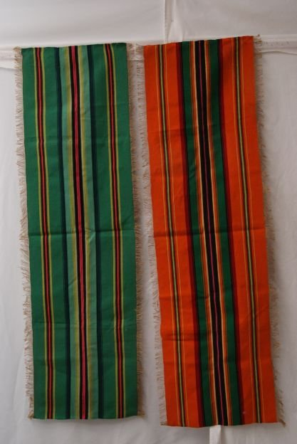 TWO MEXICAN TEXTILES
