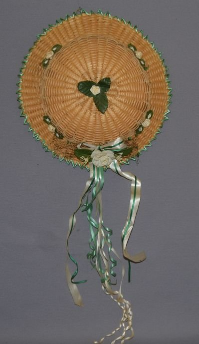 EASTERN INDIAN BASKETRY HAT